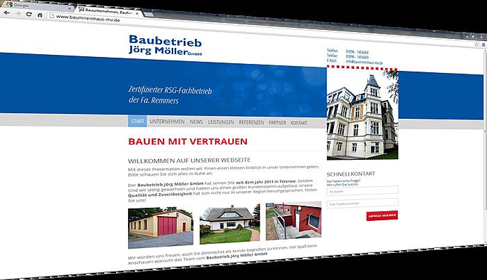 www.baumireinhaus-mv.de geht online